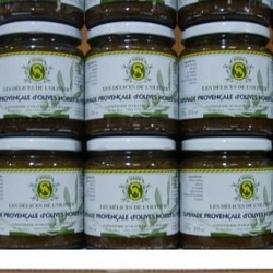LARGE JAR BLACK TAPENADE WITH BASIL/9.5OZ