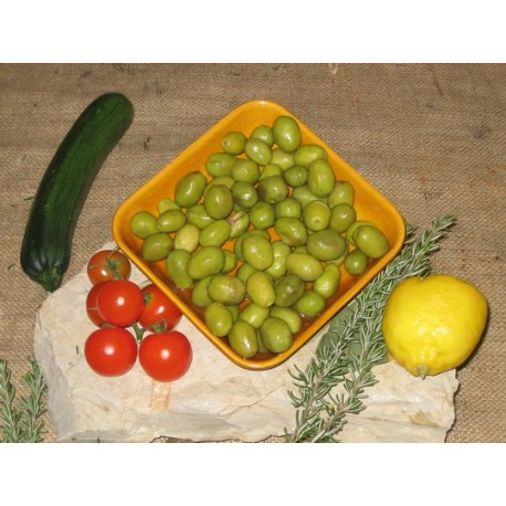 LOCAL SALONENQUES VARIETAL OLIVES SPLIT 500G/1.1LBS
